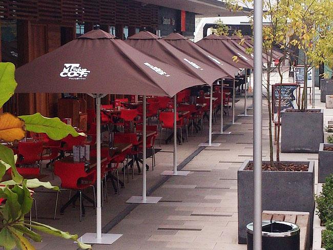 Atoldosol quitasoles carpas toldos cierres de terraza for Productos para impermeabilizar terrazas transitables